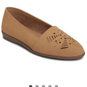 A2 by Aerosoles Trend Right Tan Loafer Flats